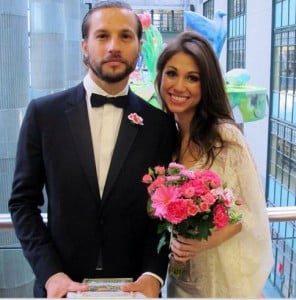 Diane Gaeta Logan Mashall Green wedding