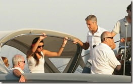 George Clooney Monika  Jakisic photo