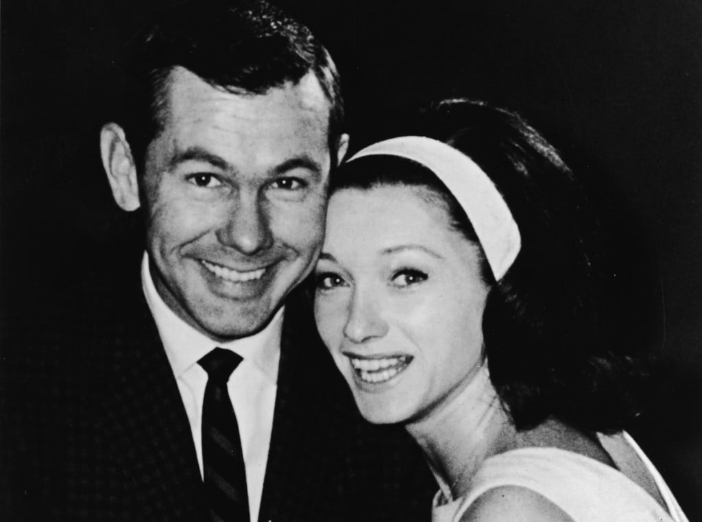 Johnny Carson & Second Wife Joanne