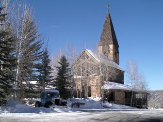 synagogue in aspen co. pic