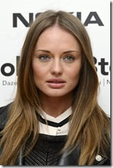 Laura Haddock sam Clafin Wife-Images